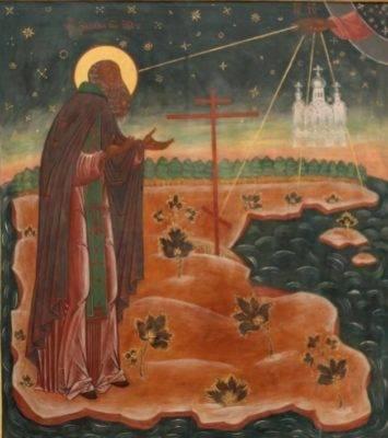 Преподобный Зосима, игумен Соловецкий