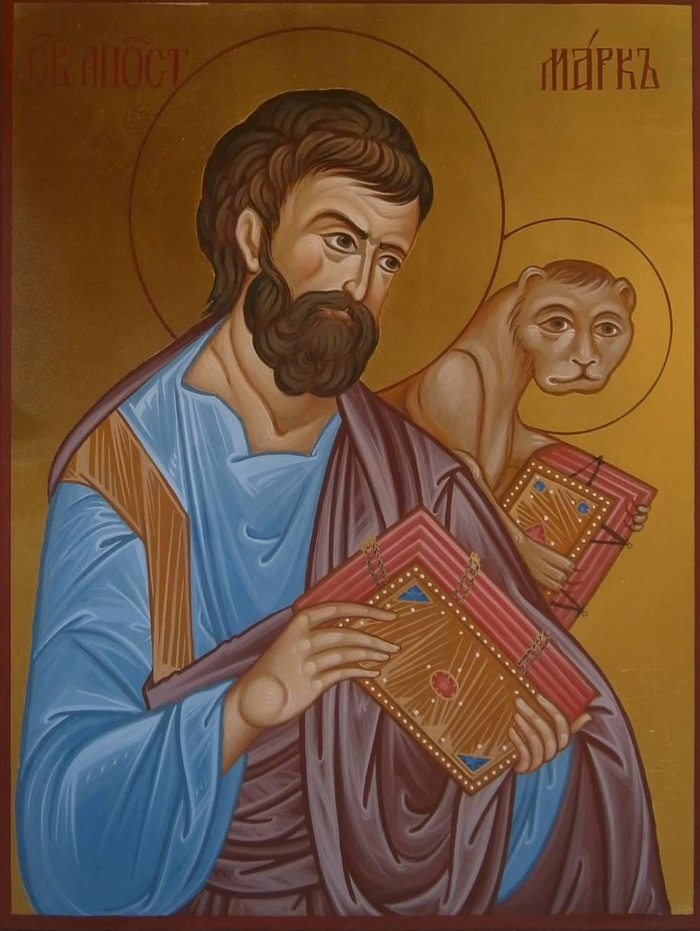 Евангелист марк икона фото